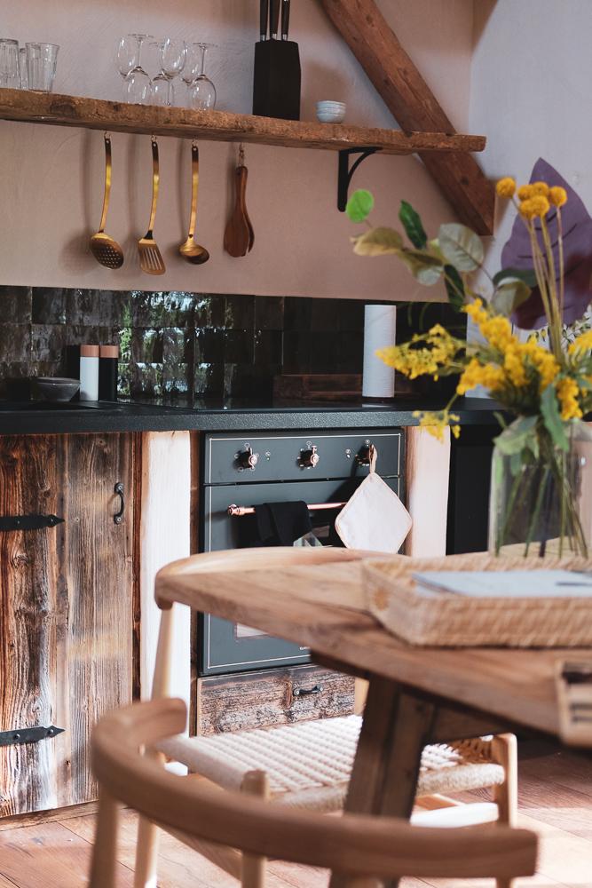 Das Rosso Küche Apartment