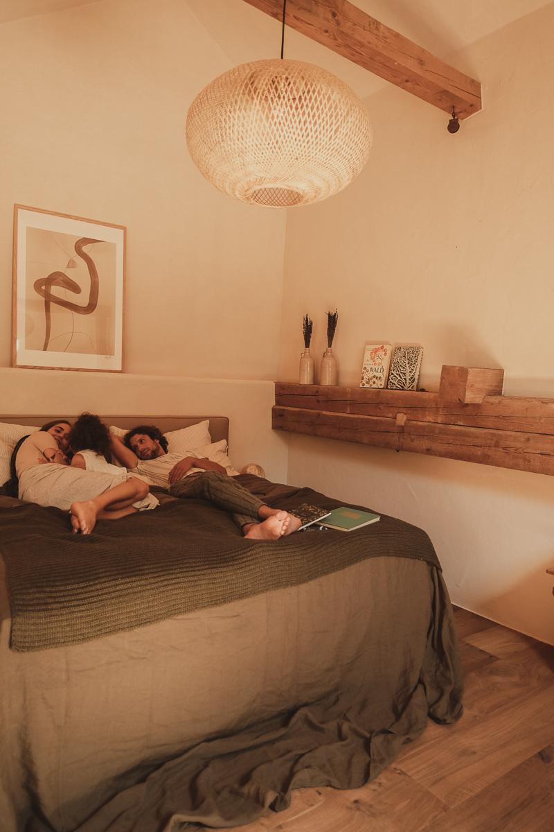 Das Rosso Schlafbereich